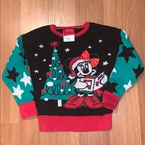 Toddler Disney Christmas Sweater
